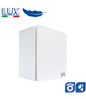 Ventilator centrifugal LUX Bora 80-100, fabricat in Italia, clapet anti-retur, senzor umiditate, debit 130 mc/h