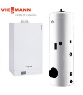 Centrala Termica in Condensatie VIESSMANN VITODENS 100-W 26 kW cu boiler 200 litri