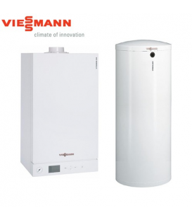 Centrala Termica in Condensatie VIESSMANN VITODENS 100-W 35 kW cu boiler 300 litri
