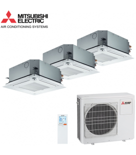 Aer Conditionat MULTISPLIT Caseta MITSUBISHI ELECTRIC 3x SLZ-KF25VA Inverter 3x9k BTU/h