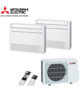 Aer Conditionat MULTISPLIT Pardoseala MITSUBISHI ELECTRIC MXZ-2D53VA / 2x MFZ-KJ25VE Dublu Split Inverter