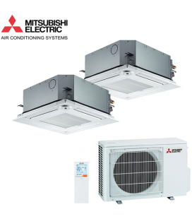 Aer Conditionat MULTISPLIT Caseta MITSUBISHI ELECTRIC 2x SLZ-KF25VA Inverter 2x9k BTU/h