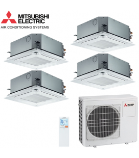 Aer Conditionat MULTISPLIT Caseta MITSUBISHI ELECTRIC MXZ-4D83VA / 4X SLZ-KF25VA Inverter
