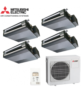 Aer Conditionat MULTISPLIT Duct MITSUBISHI ELECTRIC 4x SEZ-KD25VAQ Inverter 4x9k BTU/h