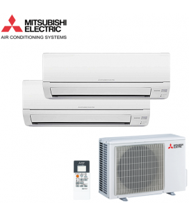 Aer Conditionat MULTISPLIT MITSUBISHI ELECTRIC MSZ-DM25VA + MSZ-DM35VA Inverter 9k+12k BTU/h