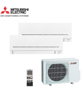 Aer Conditionat MULTISPLIT MITSUBISHI ELECTRIC 2x MSZ-AP25VG Inverter 2x9k BTU/h
