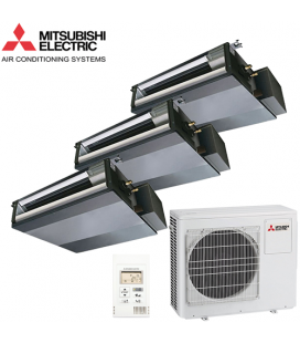 Aer Conditionat MULTISPLIT Duct MITSUBISHI ELECTRIC MXZ-3D68VA / 3x SEZ-KD25VAQ Triplu Split Inverter