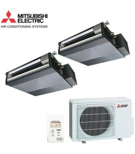 Aer Conditionat MULTISPLIT Duct MITSUBISHI ELECTRIC 2x SEZ-KD25VAQ Inverter 2x9k BTU/h
