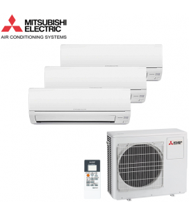 Aer Conditionat MULTISPLIT MITSUBISHI ELECTRIC 3x MSZ-DM25VA Inverter 3x9k BTU/h