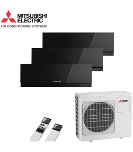 Aer Conditionat MULTISPLIT MITSUBISHI ELECTRIC MXZ-3D68VA / 3x MSZ-EF25VEB Triplu Split Inverter