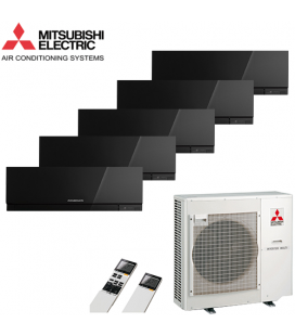Aer Conditionat MULTISPLIT MITSUBISHI ELECTRIC 5x MSZ-EF25VEB Inverter 5x9k BTU/h