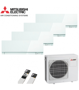 Aer Conditionat MULTISPLIT MITSUBISHI ELECTRIC MXZ-4D83VA / 4x MSZ-EF25VEW Inverter
