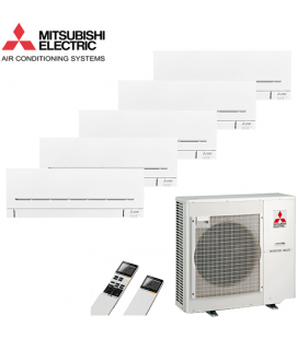 Aer Conditionat MULTISPLIT MITSUBISHI ELECTRIC MXZ-5D102VA / 5x MSZ-SF25VE Inverter