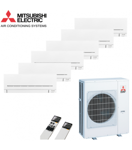 Aer Conditionat MULTISPLIT MITSUBISHI ELECTRIC 6x MSZ-SF25VE Inverter 6x9k BTU/h