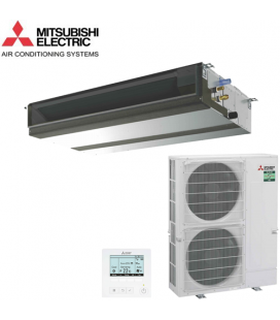 Aer Conditionat DUCT Mitsubishi Electric, PEAD-M100JA / PUZ-ZM100VKA R32 220V Power Inverter 36000 BTU/h