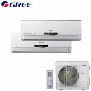 Aer Conditionat MULTISPLIT GREE Free Match GWH(09)MB + GWH(12)MB Inverter 9k+12k BTU/h