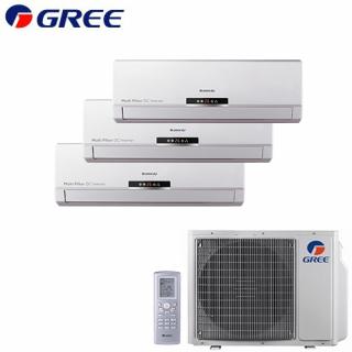 Aer Conditionat MULTISPLIT GREE Free Match 2x GWH(09)MB + GWH(12)MB Inverter 2x9k+12k BTU/h