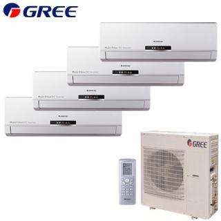 Aer Conditionat MULTISPLIT GREE Free Match 4x GWH(09)MB Inverter 4x9k BTU/h