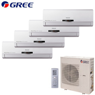 Aer Conditionat MULTISPLIT GREE Free Match 2x GWH(09)MB + 2x GWH(12)MB Inverter 2x9k+2x12k BTU/h