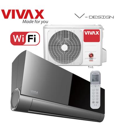Aer Conditionat VIVAX V-Design ACP-18CH50AEVI GREY MIRROR Wi-Fi Inverter 18000 BTU/h