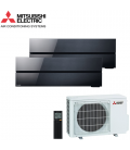 Aer Conditionat MULTISPLIT MITSUBISHI ELECTRIC Kirigamine Style 2x MSZ-LN35VGB / MXZ-2F53VF Dublu Split Inverter
