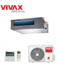 Aer Conditionat DUCT VIVAX ACP-18DT50AERI 220V R32 Inverter 18000 BTU/h