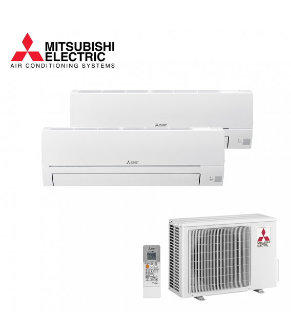 Aer Conditionat MULTISPLIT MITSUBISHI ELECTRIC MXZ-2HA40VF / 2x MSZ-HR25VF Dublu Split R32 Inverter
