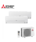 Aer Conditionat MULTISPLIT MITSUBISHI ELECTRIC MXZ-2HA40VF / MSZ-HR25VF + MSZ-HR35VF Dublu Split R32 Inverter