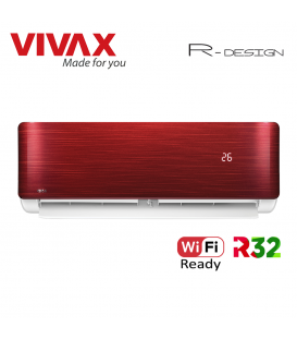 Aer Conditionat VIVAX R-Design ACP-09CH25AERI RED Wi-Fi Ready R32 Inverter 9000 BTU/h