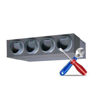 Montaj Aer Conditionat tip DUCT (aparat de tubulatura) 9000 ... 24000 BTU/h