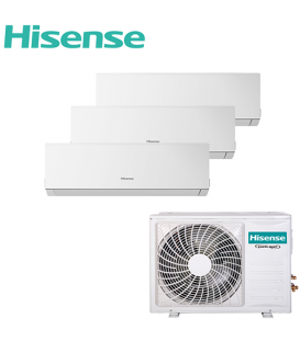 Aer Conditionat MULTISPLIT Hisense 3AMW72U4RFA / 3x DJ25VE0AG Triplu Split Inverter