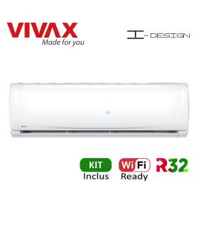 Aer Conditionat VIVAX I-Design ACP-12CH35REII Wi-Fi Ready Kit de instalare inclus R32 Inverter 12000 BTU/h