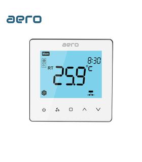 Termostat Ventiloconvector AERO TP528FC2 White, 2 tevi, pentru Incalzire / Racire / Ventilatie, alb