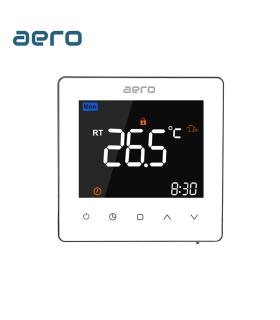 Termostat Incalzire AERO TP538WHP White, pentru Incalzire Pardoseala / Centrala Terimica, alb
