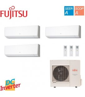 Aer Conditionat MULTISPLIT FUJITSU 3x ASYG09LMCA Triplu Split Inverter