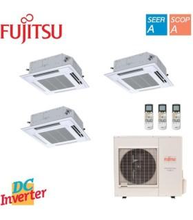 Aer Conditionat MULTISPLIT Caseta FUJITSU 3x AUYG09LVLA Triplu Split Inverter