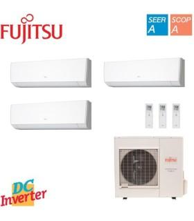 Aer Conditionat MULTISPLIT FUJITSU 2x ASYG09LMCA + ASYG12LMCA Triplu Split Inverter