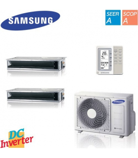 Aer Conditionat MULTISPLIT Duct SAMSUNG 2x NJ026LHXEA Inverter 2x9k BTU/h