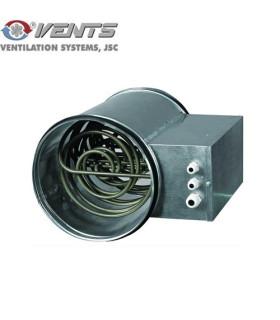 Baterie de incalzire electrica circulara NK 125 2.4-1