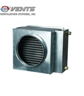 Baterie circulara de incalzire cu apa NKW 125-2