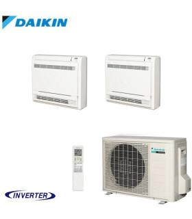 Aer Conditionat MULTISPLIT Pardoseala DAIKIN 2MXM50M9 / 2x FVXM25F Dublu Split Inverter