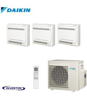 Aer Conditionat MULTISPLIT Pardoseala DAIKIN 3MXM68N / 3x FVXM25F Triplu Split Inverter