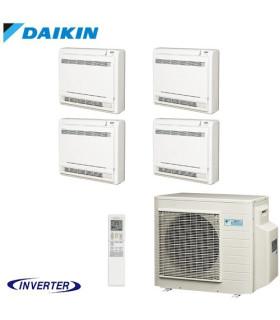 Aer Conditionat MULTISPLIT Pardoseala DAIKIN 4MXS80E / 4x FVXS25F Inverter