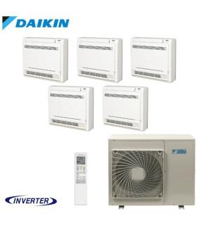 Aer Conditionat MULTISPLIT Pardoseala DAIKIN 5MXS90E / 5x FVXS25F Inverter