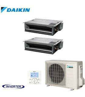 Aer Conditionat MULTISPLIT Duct DAIKIN 2MXM50N / 2x FDXM25F9 Dublu Split Inverter