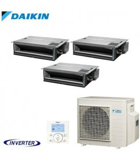 Aer Conditionat MULTISPLIT Duct DAIKIN 3MXM68N / 3x FDXM25F9 Triplu Split Inverter