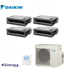 Aer Conditionat MULTISPLIT Duct DAIKIN 4MXM80N / 4x FDXM25F9 Inverter