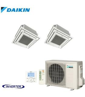 Aer Conditionat MULTISPLIT Caseta DAIKIN 2MXM50M9 / 2x FFA25A9 Dublu Split Inverter