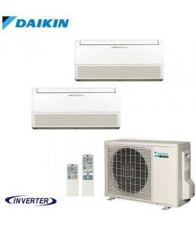 Aer Conditionat MULTISPLIT Pardoseala DAIKIN 2MXS50H / 2x FLXS25B Dublu Split Inverter