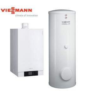 Centrala Termica in Condensatie VIESSMANN VITODENS 200-W 26 kW cu boiler 300 litri